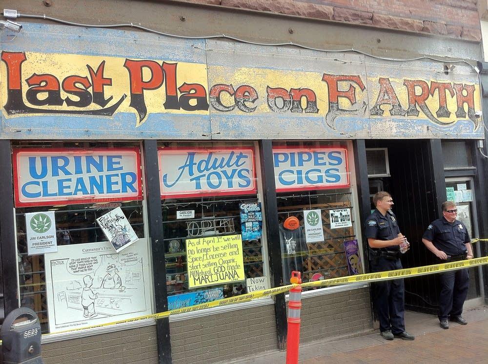 Last Place on Earth raided