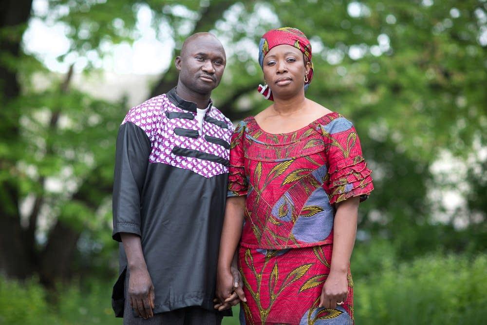 Lancine Fofana and Madosu Kanneh