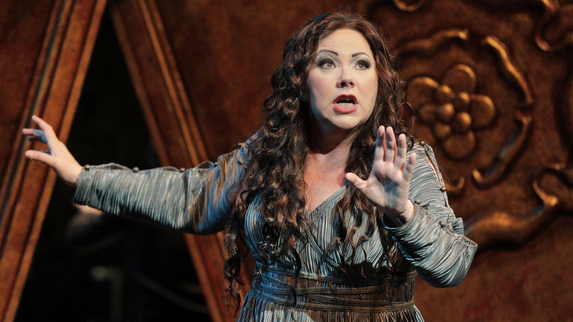 Sabine Hogrefe as Elektra in MN Opera's new staging of 'Elektra.'