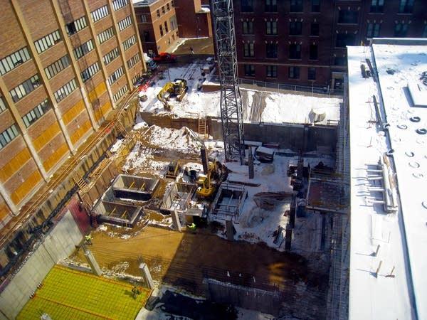 Saint Marys construction