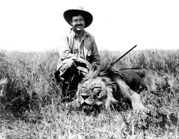 Ernest Hemingway, lion hunter | MPR News