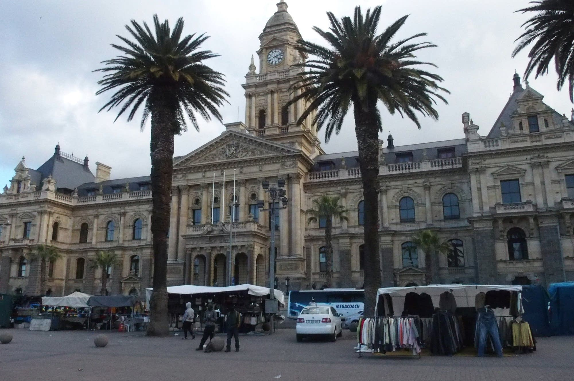 Cape Town's newly refurbished City Hall.
