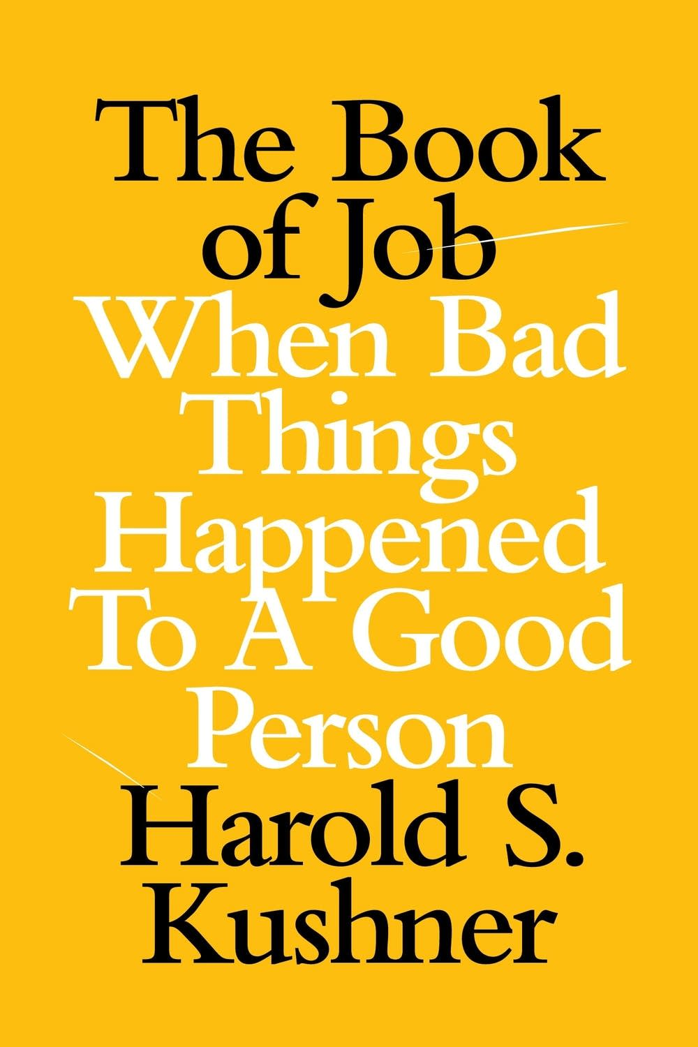 'The Book of Job' by Harold S. Kushner