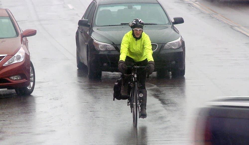 Cyclist Janne Flisrand