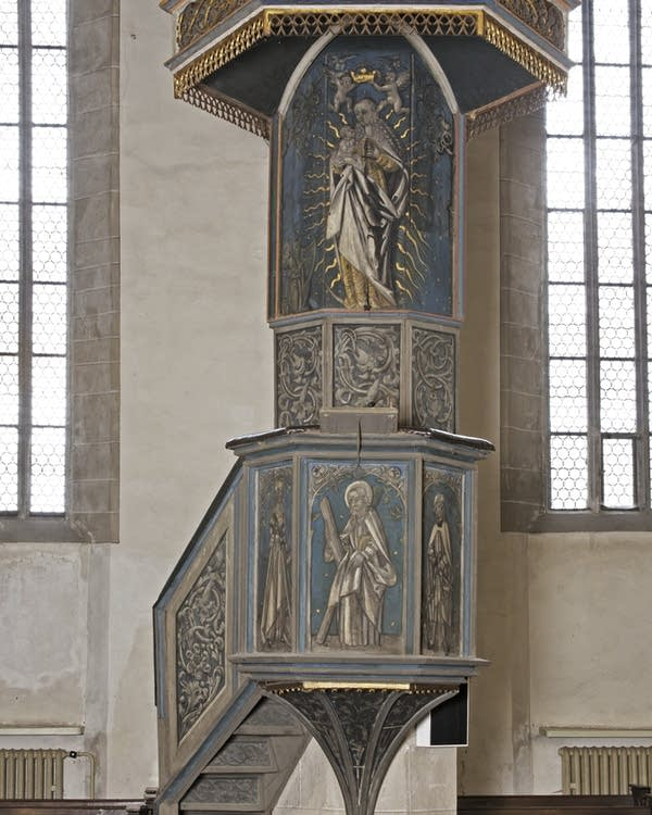 Luther pulpit