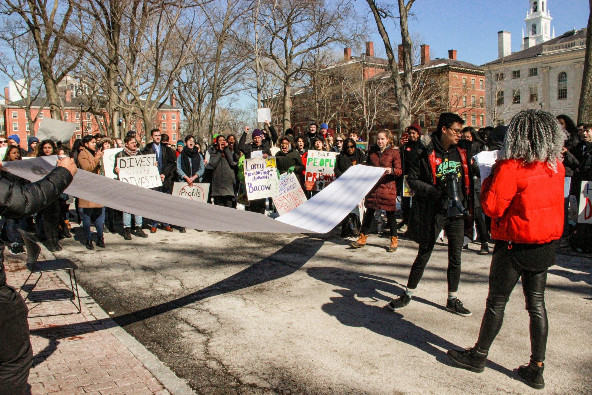 Harvard Prison Divestment Campaign