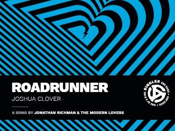 Cover art for Joshua Clover, 'Roadrunner.'