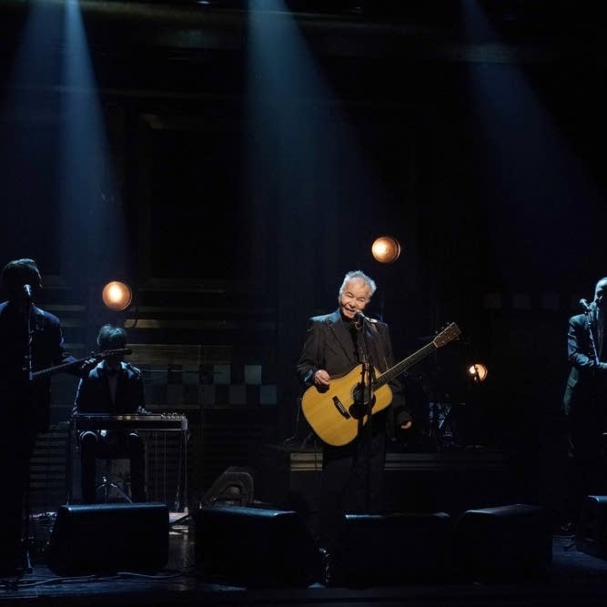 John Prine performs on 'The Tonight Show Starring Jimmy Fallon'
