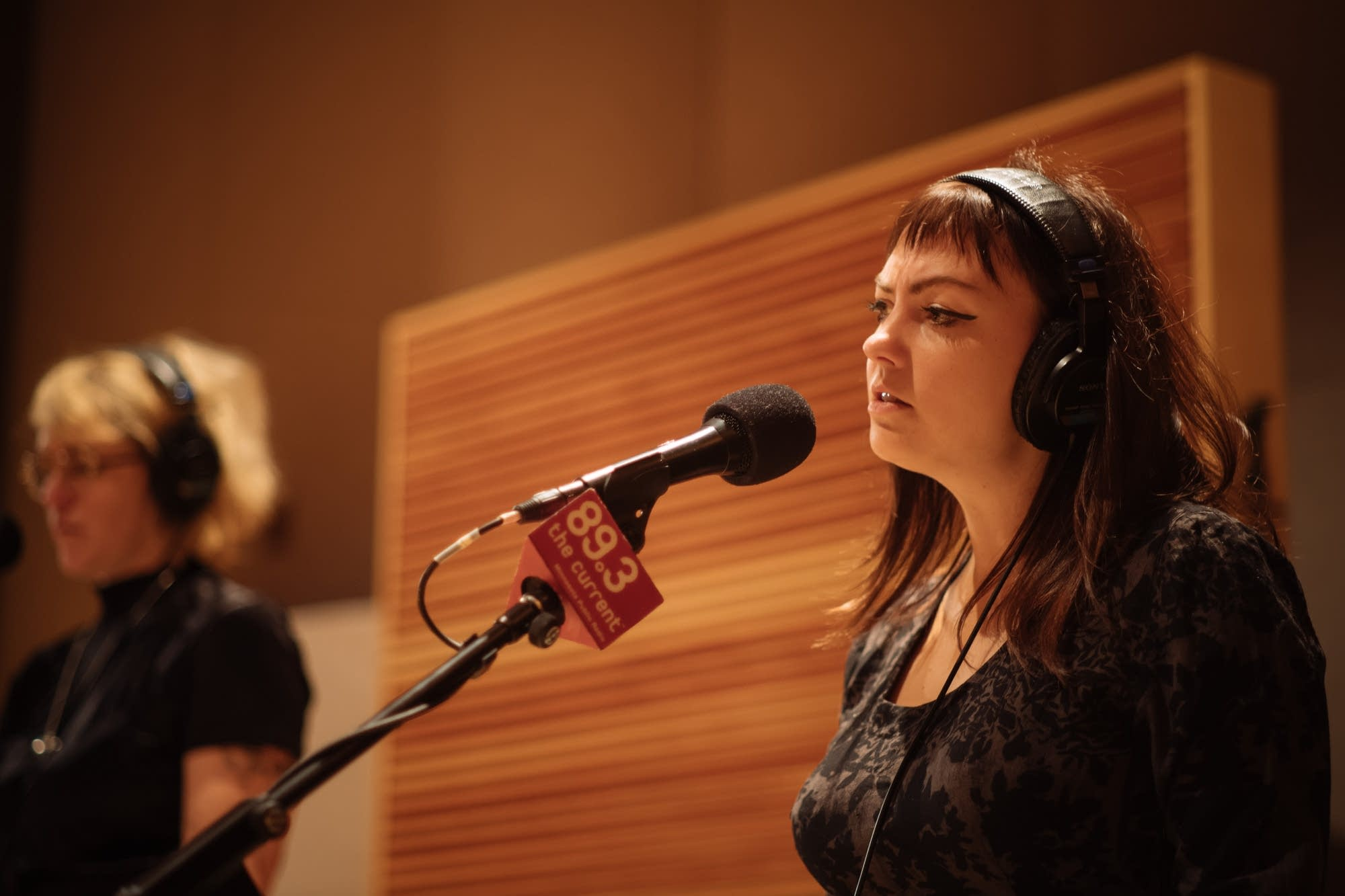 Angel Olsen performs in The Current studio