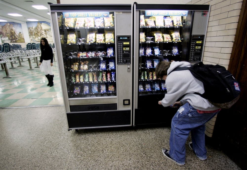 School vending machine
