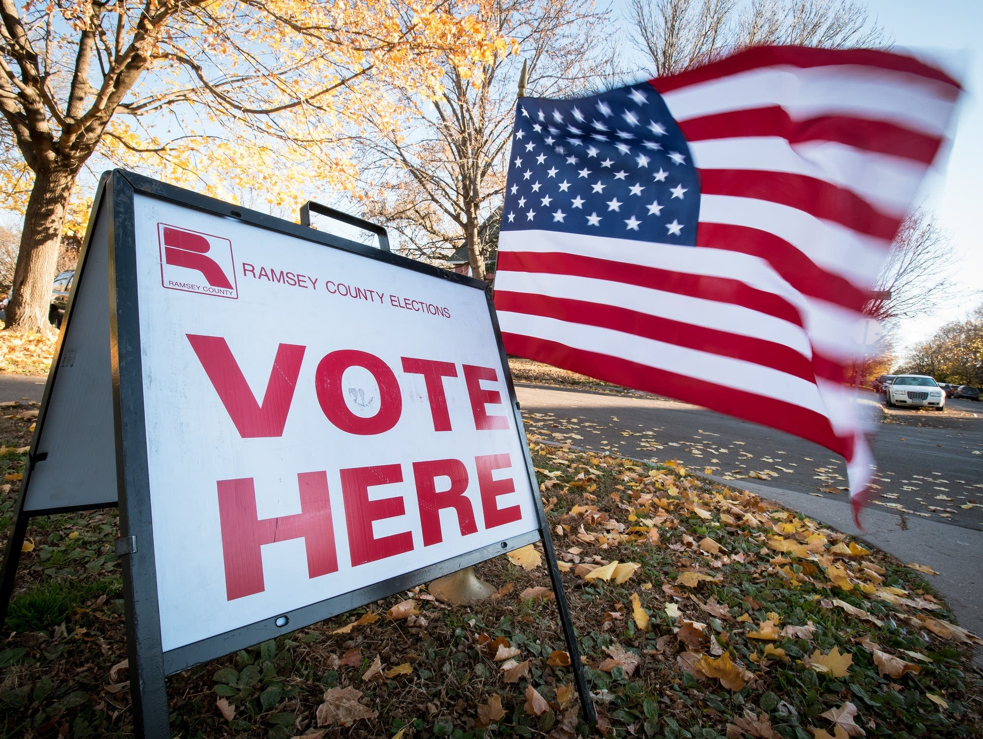 Election Day begins at Martin Luther King Rec. Ctr.