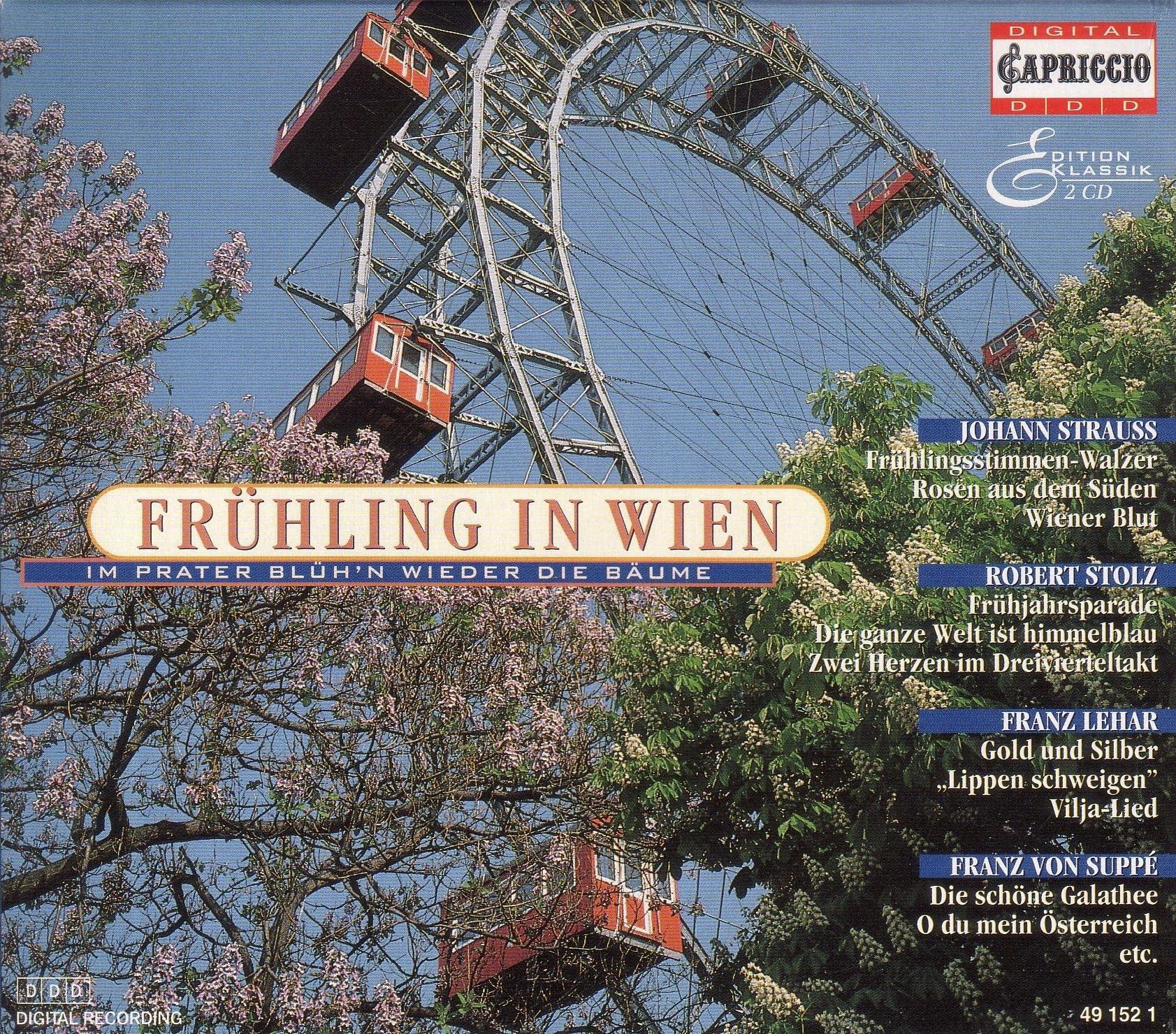 Johann Strauss II - Voices of Spring album cover