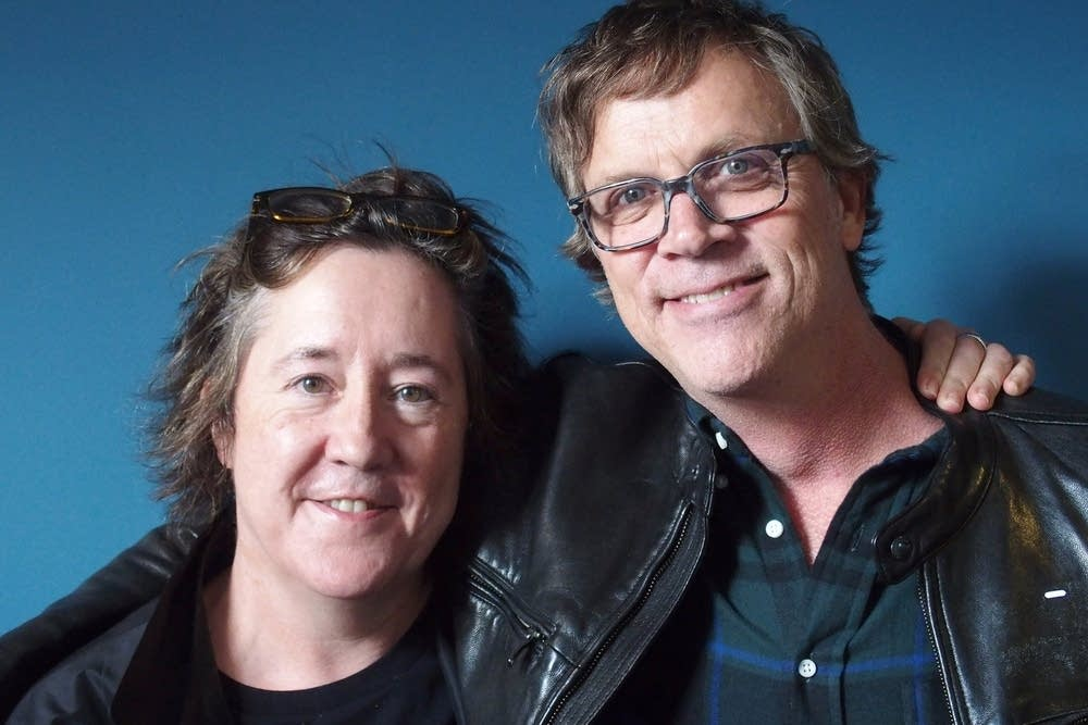Christine Vachon and Todd Haynes