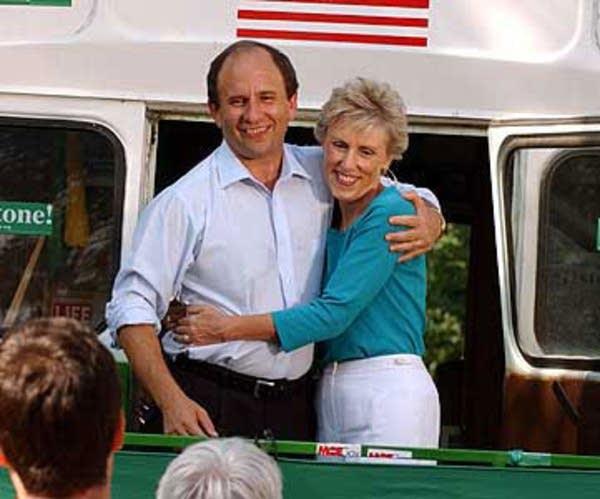 Paul and Sheila Wellstone