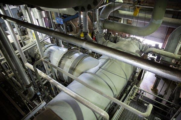District Energy turbine.
