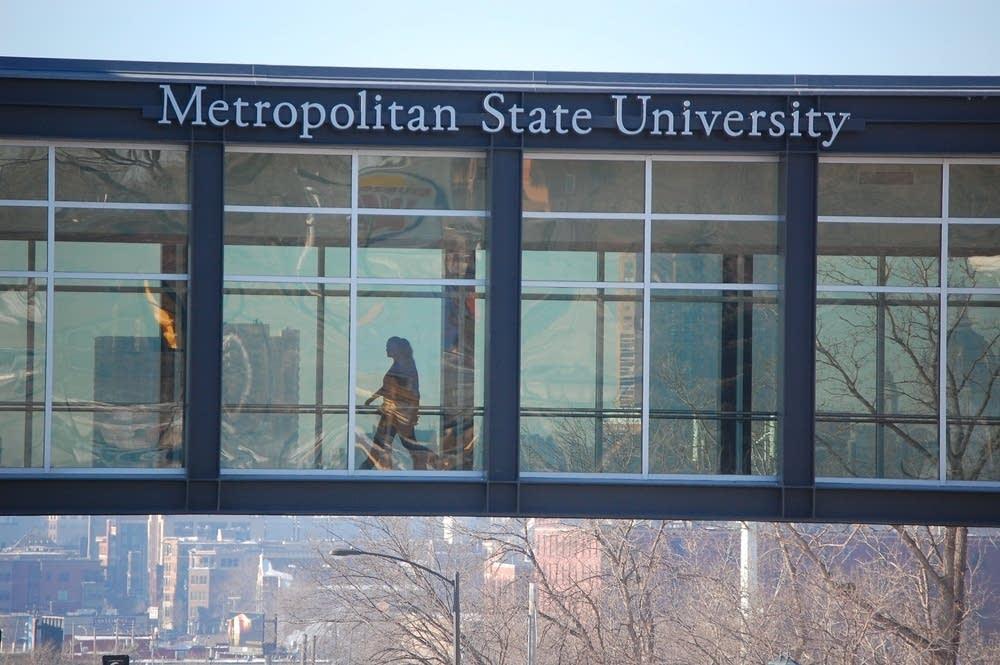 Metropolitan State University skyway