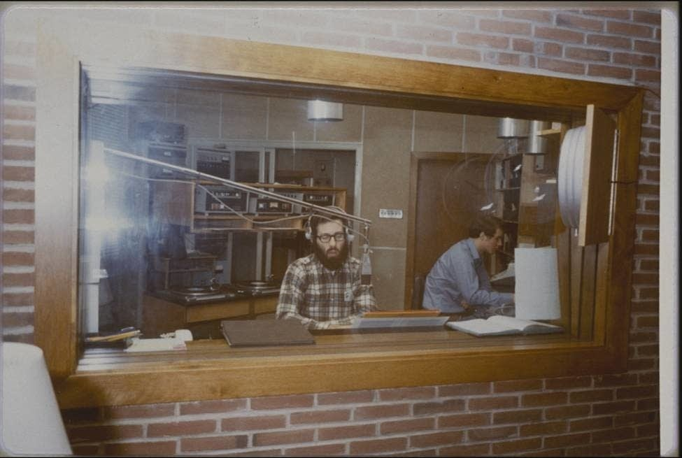 Michael Barone on MPR, circa 1969.