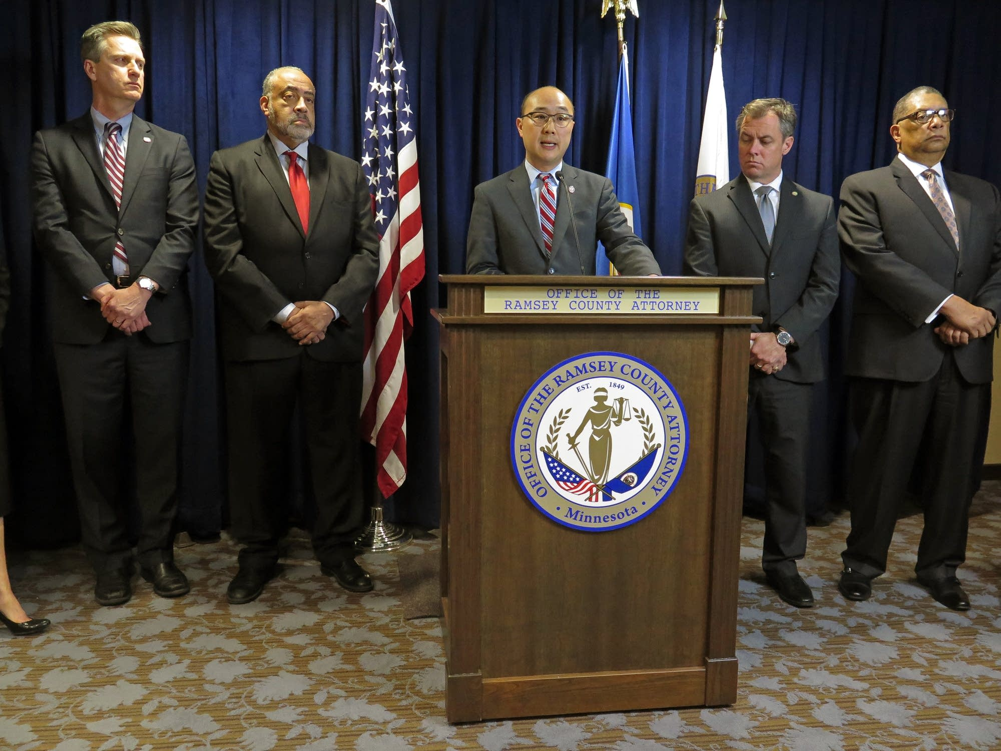 Ramsey County attorney John Choi and colleagues.